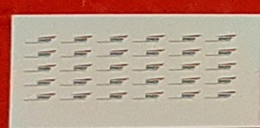 """planche décalque logos SNCF """"Casquette"""" - 1/220eme"""