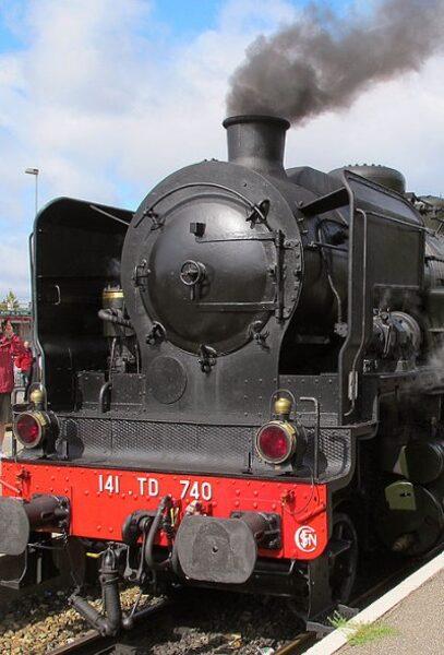 Locomotive 141TD740 - SNCF- 1/160