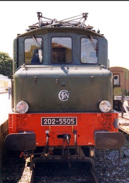 Locomotive 2D2 5501 SNCF