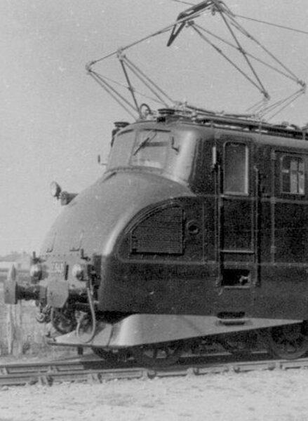 """Locomotive 2D2 5538 SNCF """"Femme enceinte"""""""