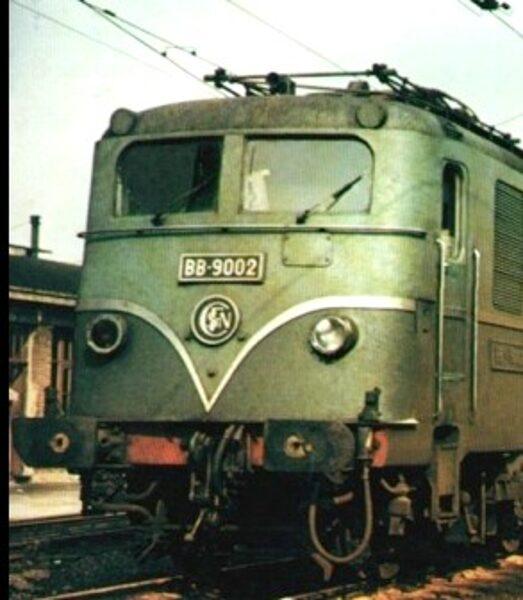 Locomotive BB9001 SNCF