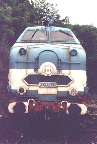 Locomotive Diesel CC65000 1/160