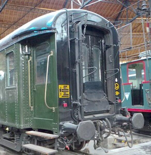 Voiture OCEM A9/B9 - SNCF - 1/220