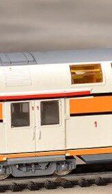 Voiture voyageur VB2N, voiture B ou A/B  - 1/160